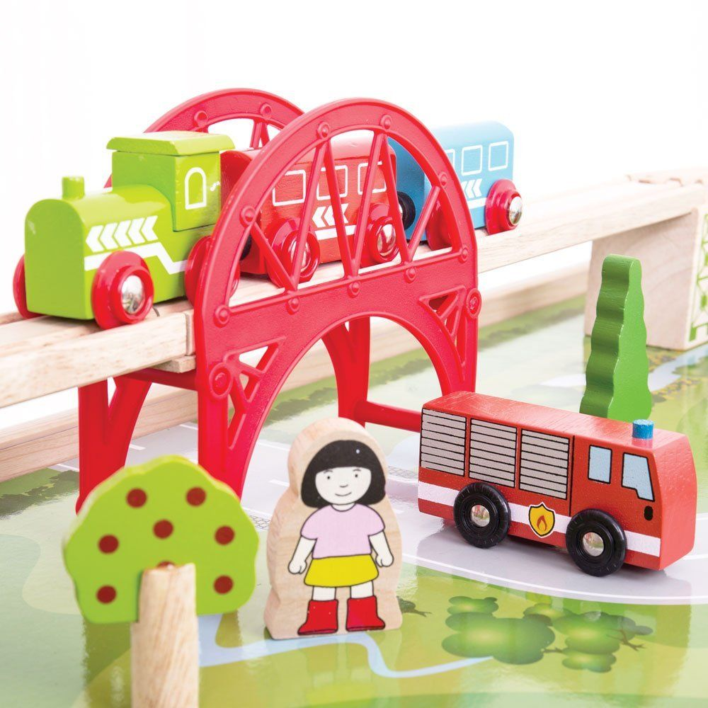 Services Train Set and Table,Train Set and Table,bigjigs train table ...